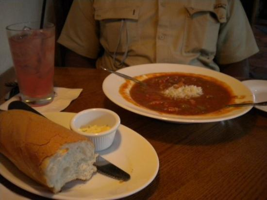 Harry's Seafood Bar and Grille: the gumbo was GREAT!!!