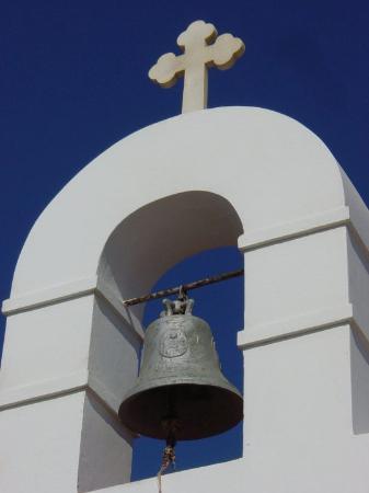 Mykonos by, Hellas: Church Bell Tower