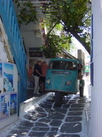 Mykonos by, Hellas: Mykonos Town Centre