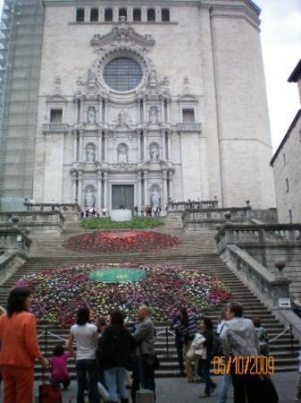 Girona, Spania: catedrala episcopala