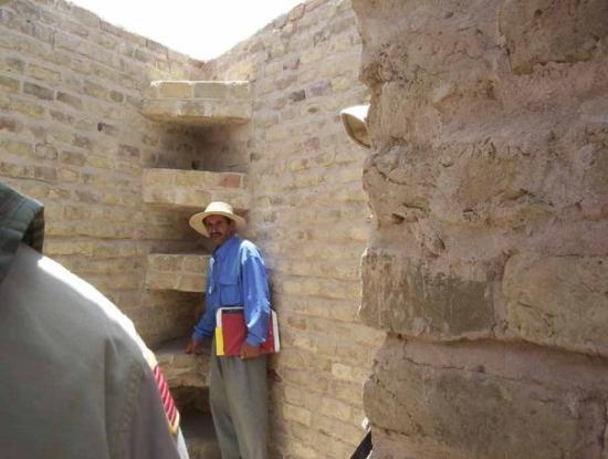 Nasiriyah, Irak: Good ol' Deep.  He was the tour guide for the City of Ur.  He learned english in order to do thi