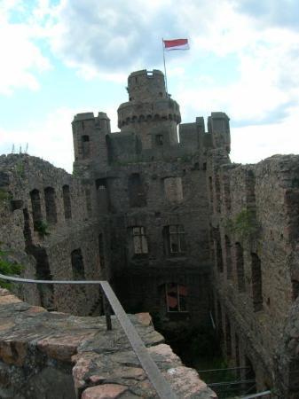 Burstadt, Tyskland: old castel