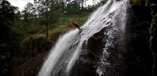 Da Lat, Vietnam: 1st Canyoning....