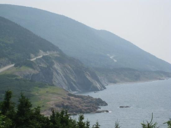 Cape North, Canada: The awesome virews and roads of Cabot Trail in Nova Scotia.
