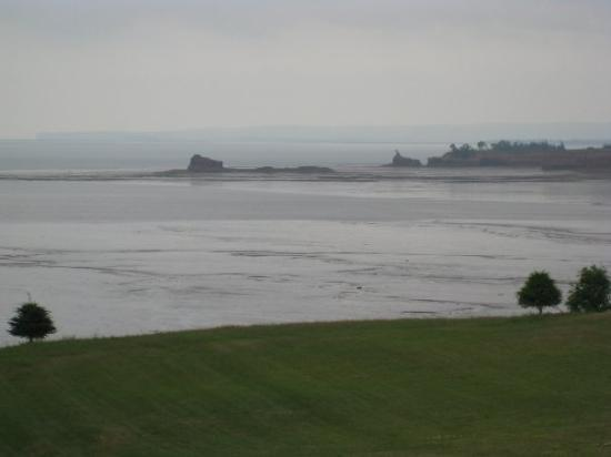 Cape North, Canada: Bay of Fundy. It has the largest tide change. 60 ft.