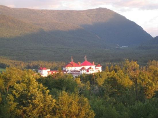 Bretton Woods, NH: View from my brothers of the Mount Washington Hotel