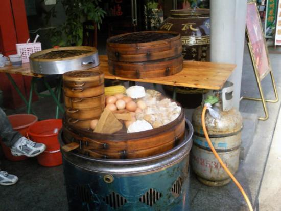 Shenzhen, Kina: My breakfast everyday.