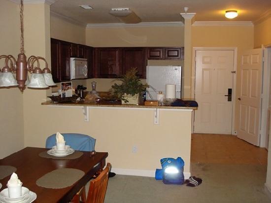 Tuscana Resort Orlando by Aston: Dining/Kitchen area
