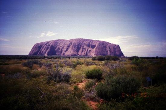 Yulara, Australia: Ayers Rock, Northern Territory, Australia.