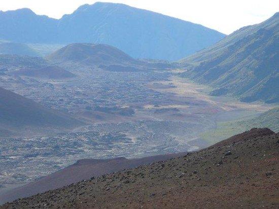 Bilde fra Haleakala Crater
