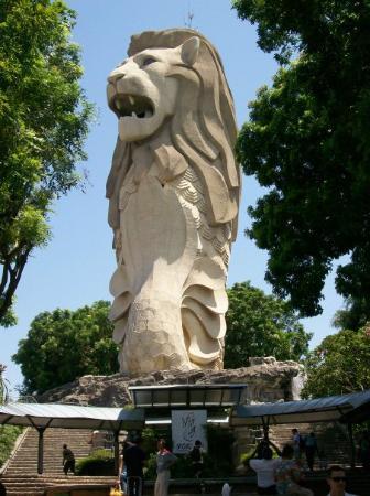 Merlion Park: merlion
