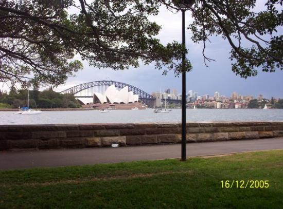 Sydney Harbour: Sydney Harbor Bridge with the Opera House in the fore ground. Sydney, N S W, Australia.