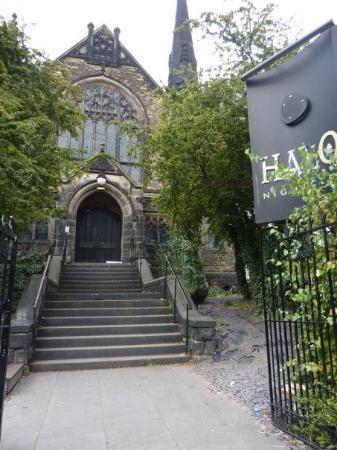 Leeds, UK: Some gothic nightclub!
