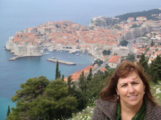 Antikke bymurer: Dubrovinik - Croacia