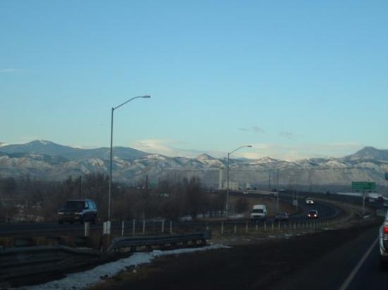 Breckenridge, CO: On our way to Breck, I love the mountains!