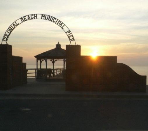 Colonial Beach, VA: Sunrise