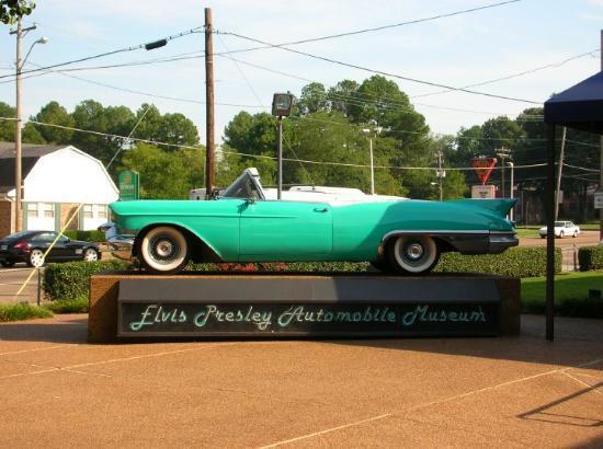 Memphis, TN: Automobile Museum at Graceland. Sept 2007