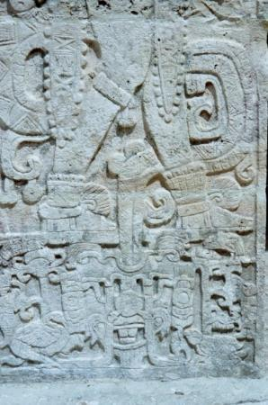Chichen Itza, Mexico: And more carvings...