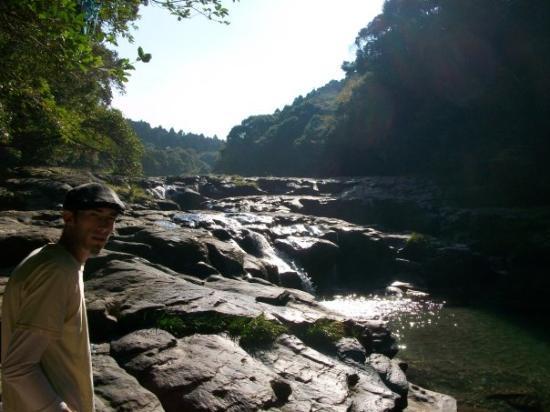 Kagoshima, Japan: Ed on our little adventure