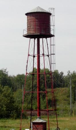 Minnesota Discovery Center: Ironworld Water Tower, Chisholm