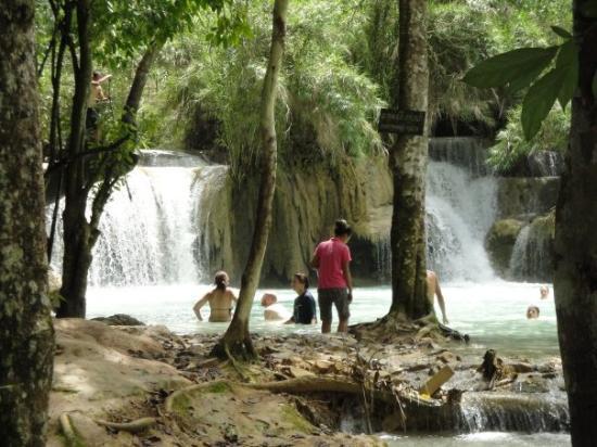 Bilde fra Kuang Si Falls