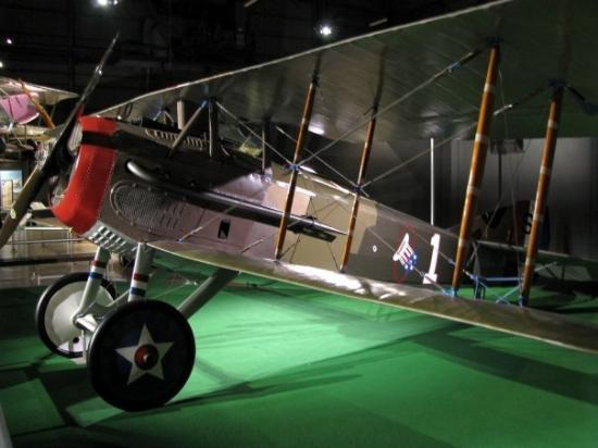 Dayton, OH: WWI fighter plain