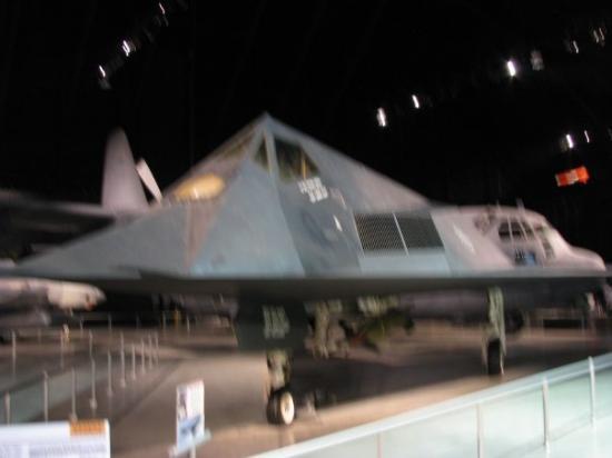 Nasjonalmuseet for amerikanske luftstyrker: Stealth bomber