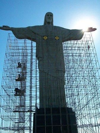 Bilde fra Kristusstatuen i Rio de Janeiro