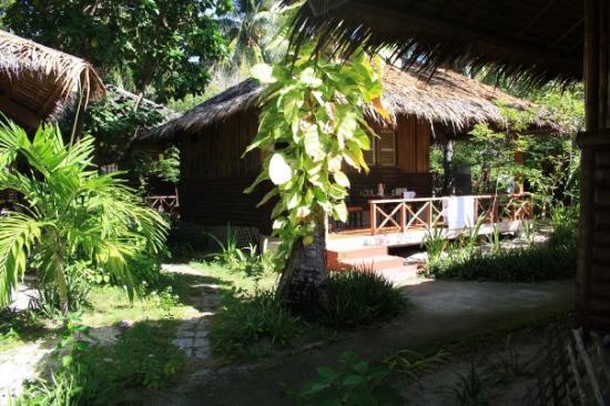 Bantayan Island, Filippinene: vår stuga på Kota beach