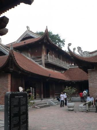 Litteraturtempelet og nasjonalt universitet: Temple of Literature - Hanoi