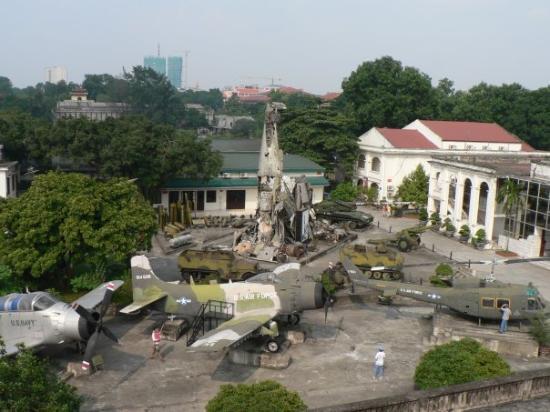 Vietnam Militærhistoriske Museum: Military History Museum - Hanoi