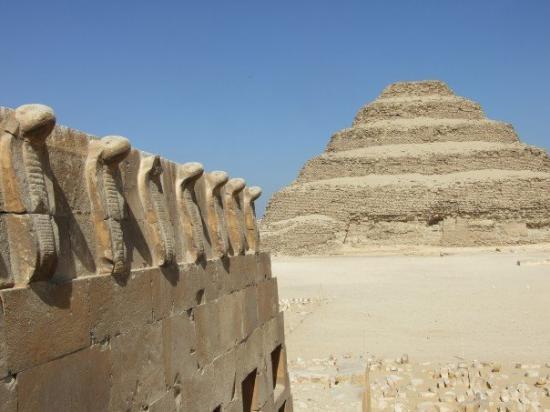 Step Pyramid of Djoser: Step Pyramid of Zoser - Saqqara, Egypt