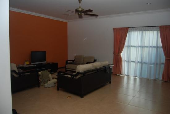 Felda Residence Hot Springs: 1-bedroom Villa lounge