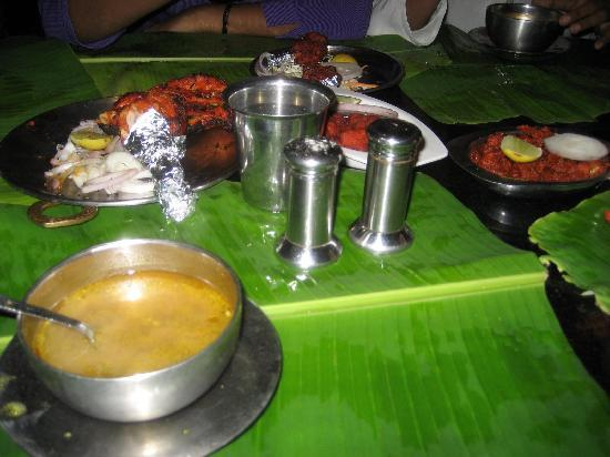 Anjappar Chettinad Restaurant: Non Veg