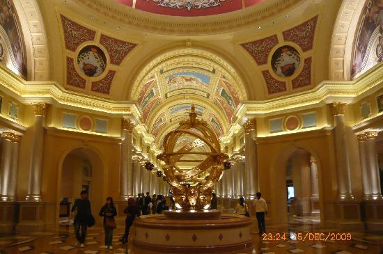 "The Venetian Macao Resort Hotel: ""grand"" entrance"