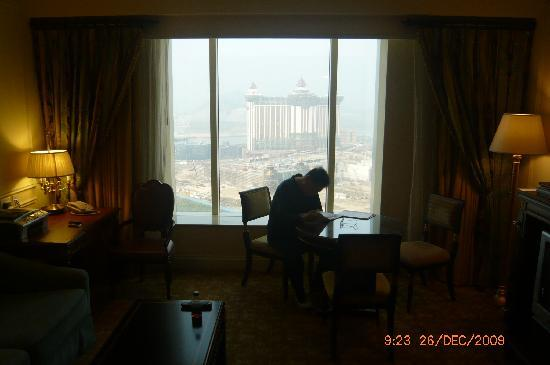 The Venetian Macao Resort Hotel: view out