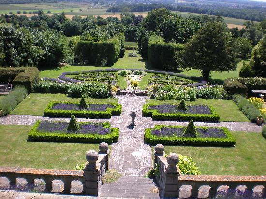 Thurnham Keep Country House B&B: All The Rooms Look Out Over The Gardens