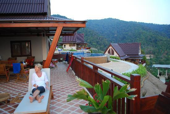 Baan KanTiang See Villa Resort (2 bedroom villas): terasse