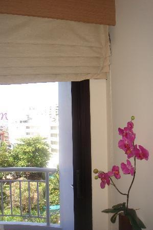 Mercure Pattaya Hotel: roomwindow