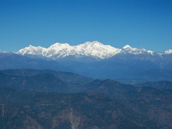 Hotel Anand Palace: Kanchenjunga Mountain