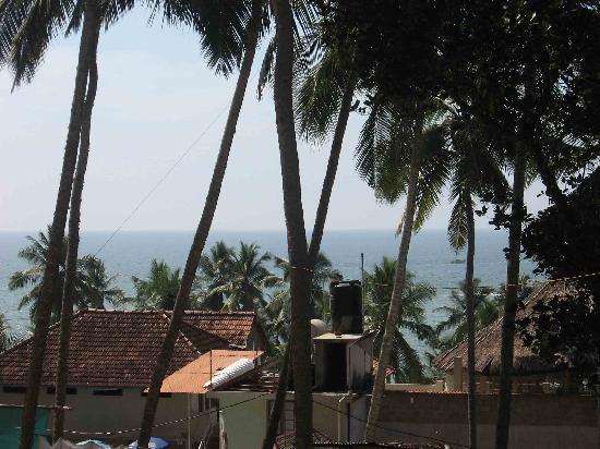 Sagara Beach Resort: View of Lighthouse Beach from room