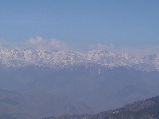 Hotel Hatu: Himalayas from Narkanda