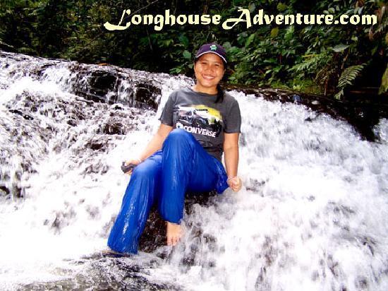 Annah Rais Longhouse Adventure: Waterfall