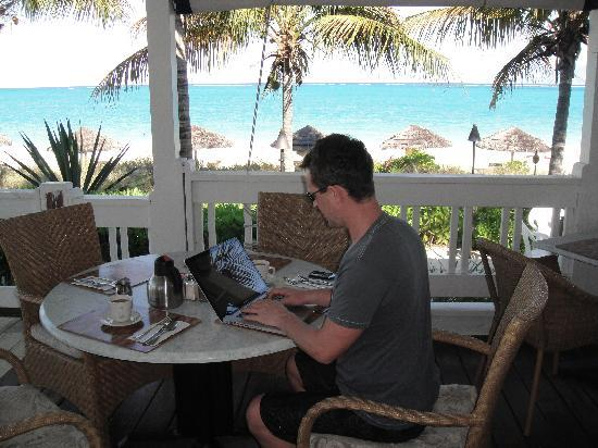 Sibonne Beach Hotel: ANOTHER HARD DAY AT THE OFFICE