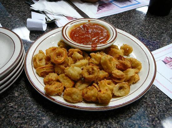Calamari Appetizer at Long Neck Diner