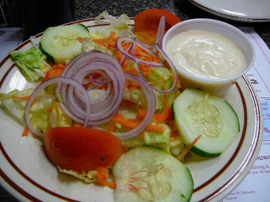 House Salad at Long Neck Diner