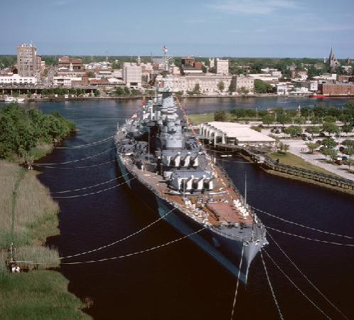 Hilton Garden Inn Wilmington Mayfaire Town Center: Visit the Battleship NORTH CAROLINA