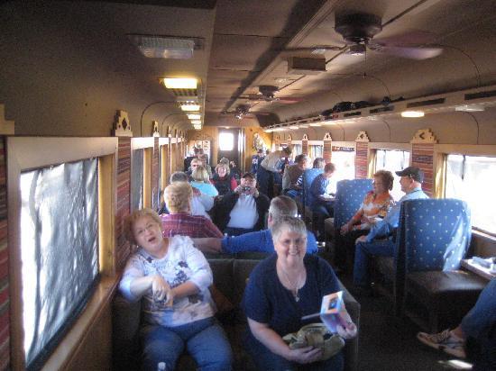 Verde Canyon Railroad: A First Class car