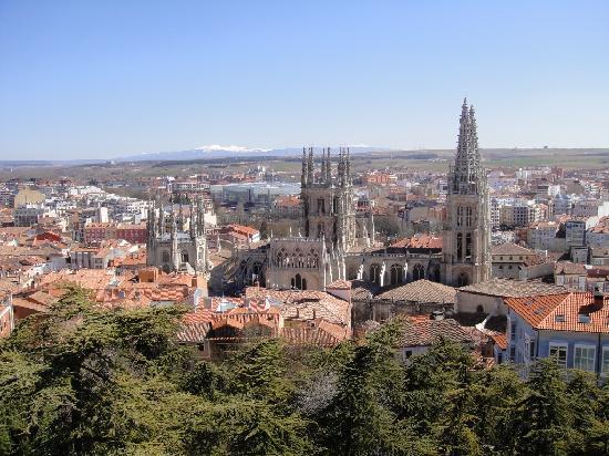 Catedral de Burgos: Vista desde el Mirador.