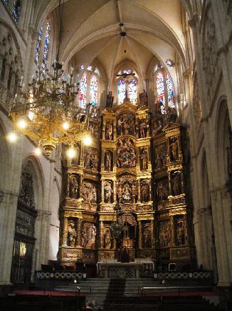 Catedral de Burgos: El Retablo mayor